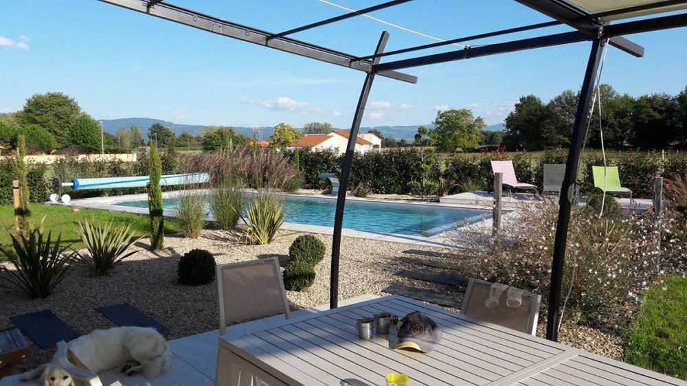 Surréaliste Aménagement terrasse piscine extérieure, Aménagement abord, plage RI-03